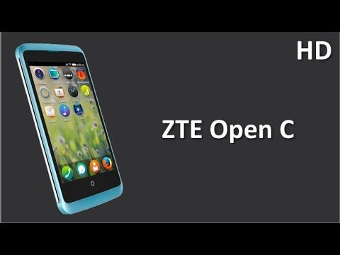 ZTE Open C comes with Firefox OS 1.3 and 1.2 GHz Dual Core Processor, 512MB RAM