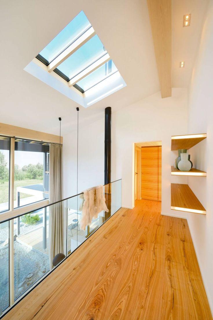 ehrfurchtiges haus mit galerie im wohnzimmer abzukühlen Abbild oder Bacaeeedafcfeac Cabin Loft Modern Cabins Jpg