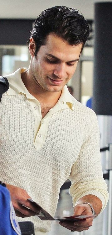 Henry Cavill. So handsome <3