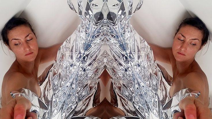 vanishing time   2015 by Zornitsa Stoyanova #psychedelic #surrealart #surreal #mylarart #psychedelicart