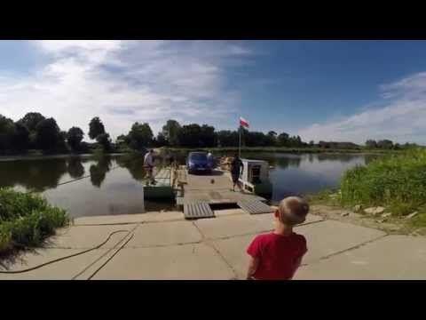 Wieża widokowa Mielnik i prom na Bugu (Mielnik-Zabuże) - YouTube