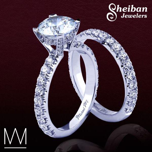 28 best Michael M Engagement Rings images on Pinterest Wedding