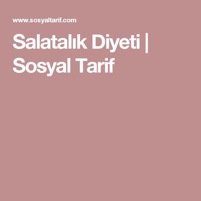 Salatalık Diyeti | Sosyal Tarif