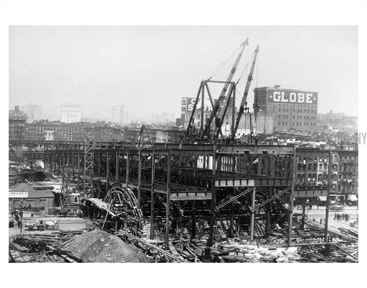 Queensboro Bridge construction 8