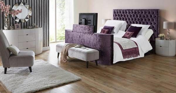 Radiant King Size (5 ft) Adjustable TV Bed & Mattress  Impulse | DFS