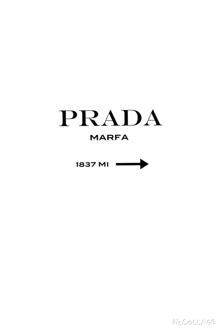 Prada Marfa Milano iphone wallpaper