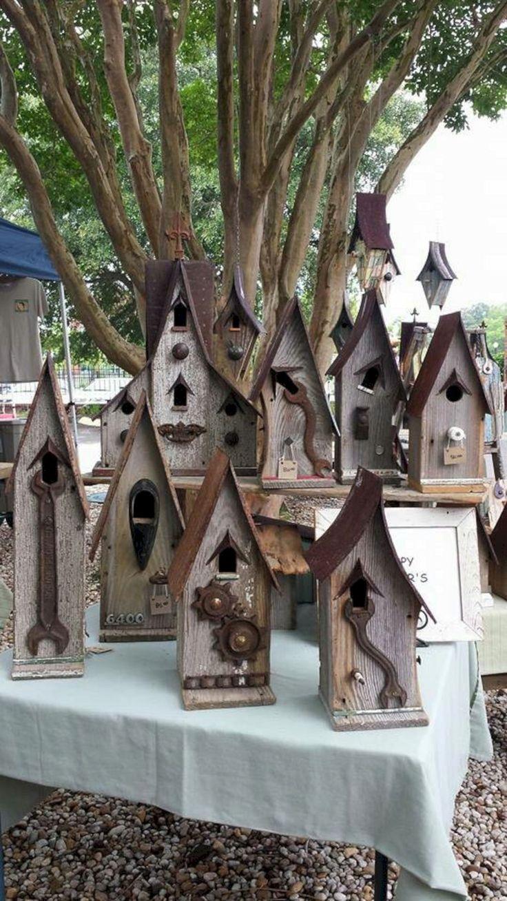 Great Idea 35+ Most Popular Birdhouses Rustic For Your Beautiful Garden https://decoredo.com/8217-35-most-popular-birdhouses-rustic-for-your-beautiful-garden/