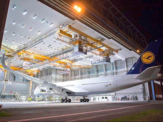 Airbus A350 : livrée pour Lufthansa, annulations pour SriLankan Airlines
