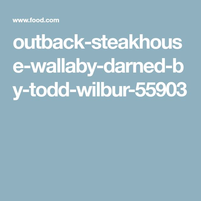 outback-steakhouse-wallaby-darned-by-todd-wilbur-55903