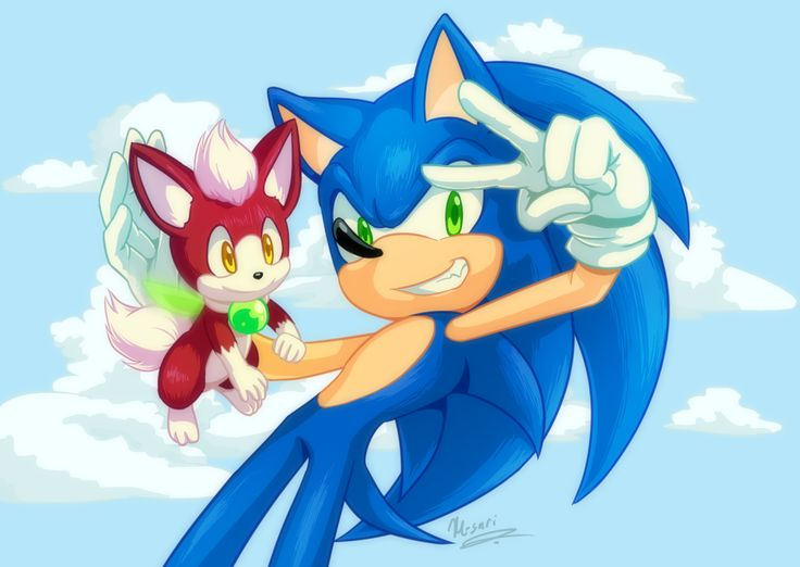 Little bud by Myly14 on deviantART - Sonic the Hedgehog - Chip - Sonic Unleashed