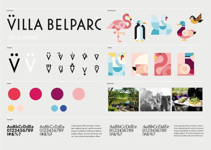 Villa Belparc Visuell Identitet