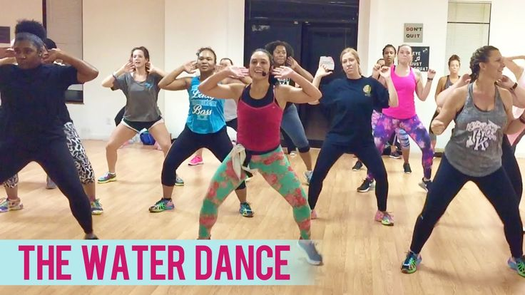 Chris Porter ft Pitbull - The Water Dance (Dance Fitness with Jessica)