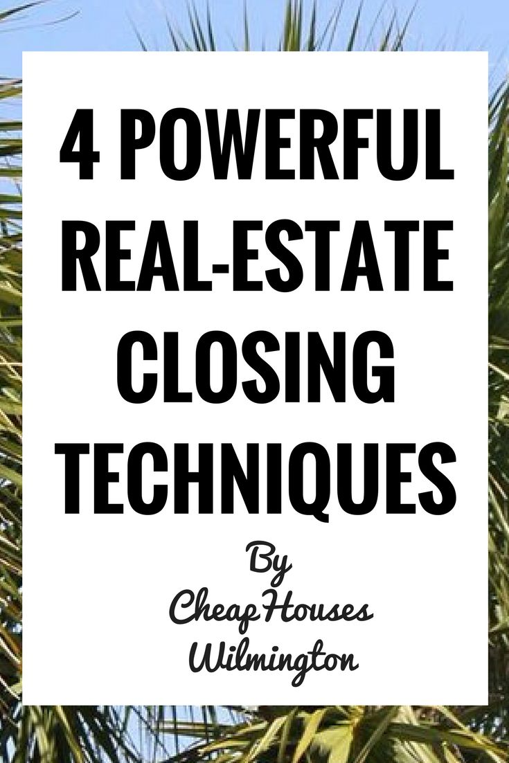 "Closing in real-estate is a different beast then most professions. ""Making a sale"" usually revolves around procuring a signed exclusive buyer/seller agency! Here are some powerful closing techniques for real-estate. Be sure you've done these things beforehand: Qualified (You have a ready, willing, and able seller) Gone thru all possible objections You know feeling that …"