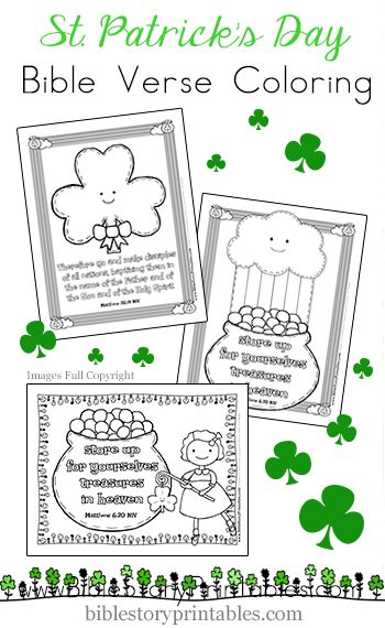 Christian St. Patrick's Day Coloring Pages
