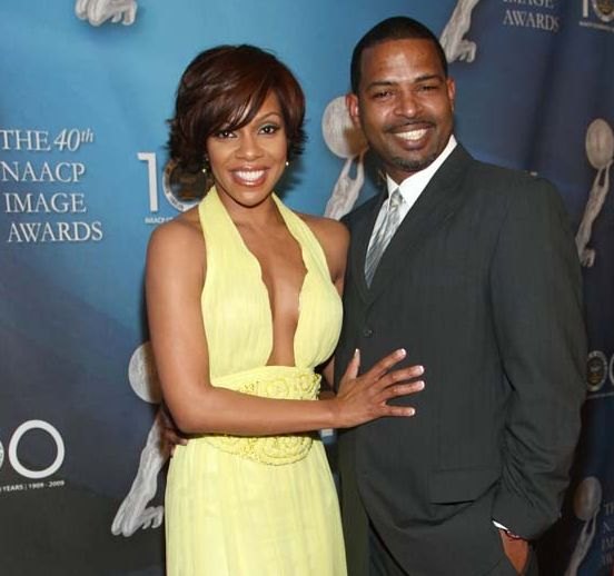 Wendy Raquel Robinson and her husband Marco Perkins