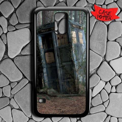 Abandoned Tardis Doctor Who Samsung Galaxy S5 Black Case
