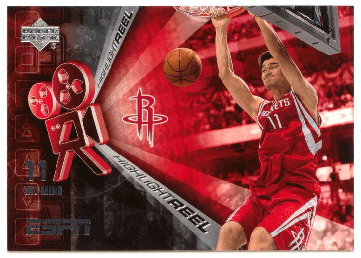 Yao Ming # HR-7 - 2005-06 Upper Deck ESPN Basketball Highlight Reel