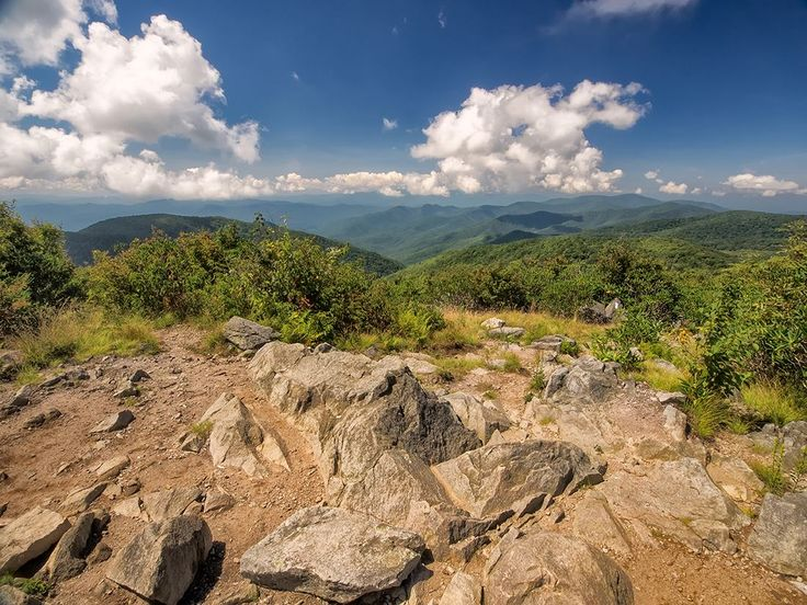 """You know that song """"Rocky Top""""? How many of you have seen the view from this famous peak? The hike to Rocky Top is a beast—the shortest route is approximately 12 miles roundtrip with a 3,600 foot elevation gain. So to save your aching feet, here's the view from Rocky Top taken a few days ago!  """"Rocky Top, you'll always be Home sweet home to me. Good ol' Rocky Top, Rocky Top, Tennessee."""" —song by Felice and Boudleaux Bryant"""