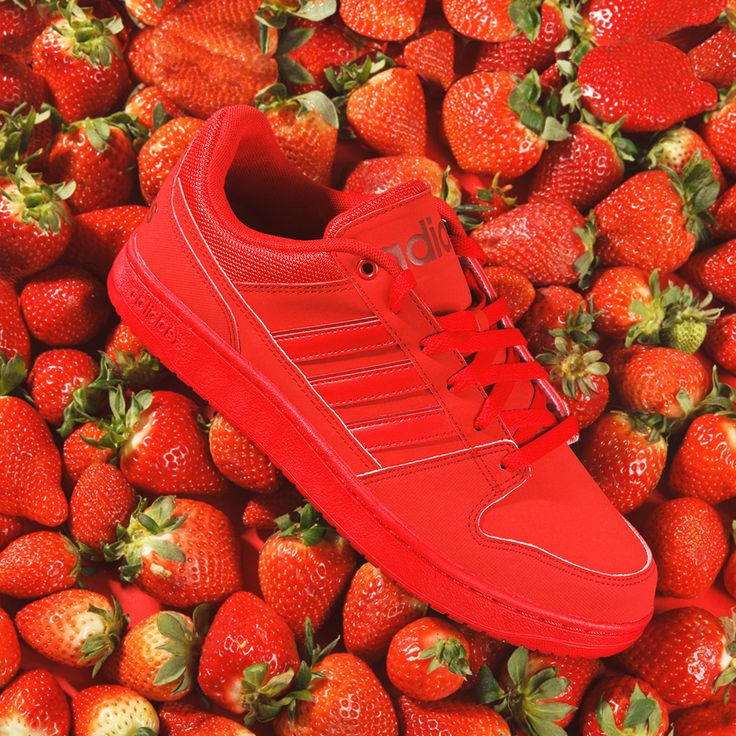 adidas shoes deichmann fruits strawberries erdbeeren red sneaker fashion style 54 90. Black Bedroom Furniture Sets. Home Design Ideas
