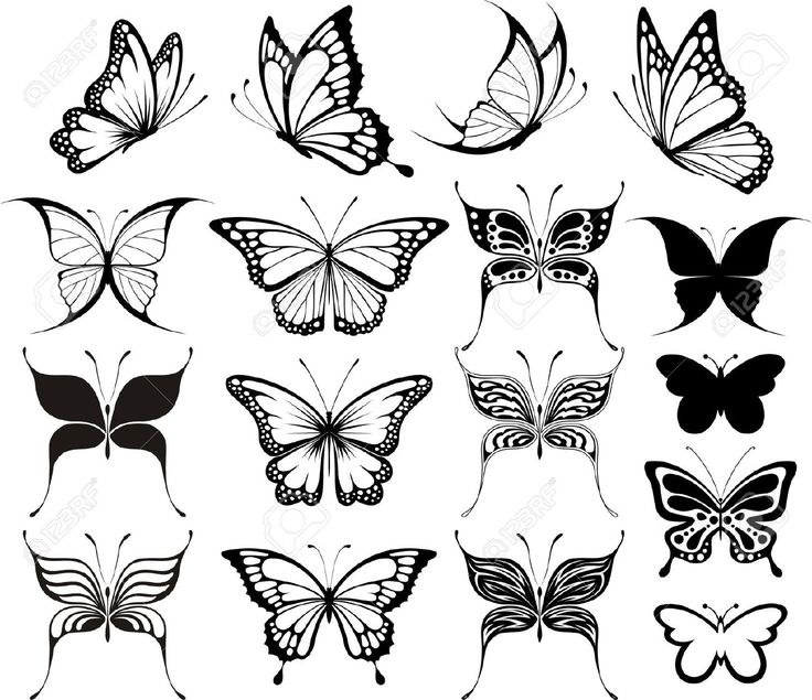 las 25 mejores ideas sobre tatuajes de mariposa en pinterest tatuaje mariposa negra tatuaje. Black Bedroom Furniture Sets. Home Design Ideas