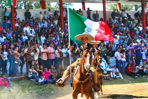 Jiquilpan Michoacan pueblo magico. Desfile 20 de Noviembre.
