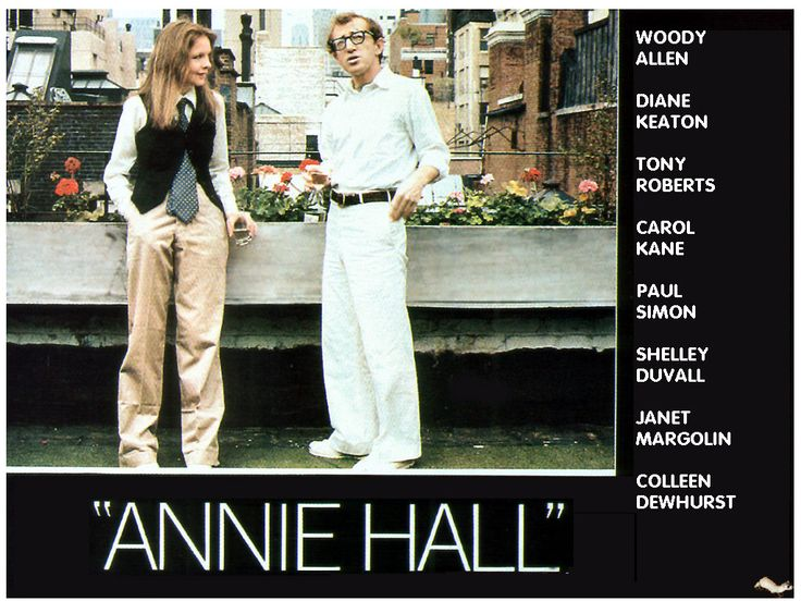 Name of the movie: Annie Hall.  IDMb rating: 8.1/10. Romantic comedy .Published in 1977.  Description: Neurotic New York comedian Alvy Singer falls in love with the ditsy Annie Hall.