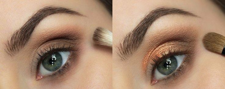 Rozświetlający makijaż na jesień 2014 krok po kroku: