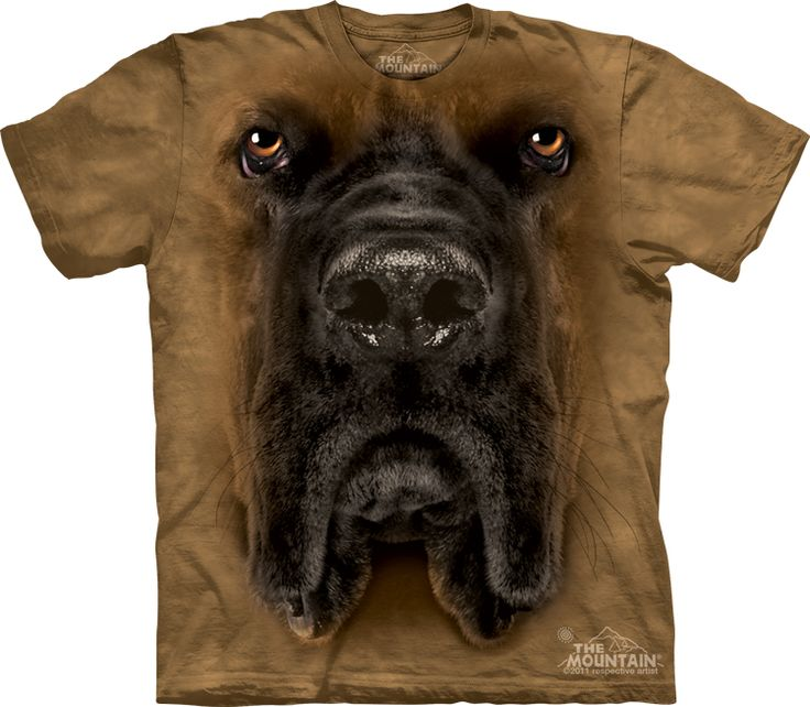 Mastiff t-shirt - Click image to see hundreds of different animal t-shirts #themountaintees
