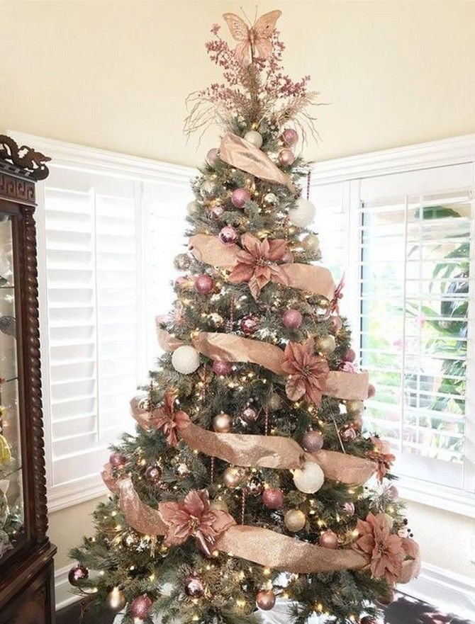 The Christmas Season Is Here And That Means Decorating Your Tree My Family Alway Gold Christmas Decorations Rose Gold Christmas Tree Ribbon On Christmas Tree