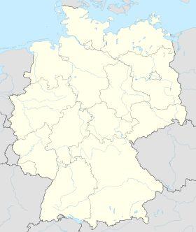 Deutschlandkarte, Position der Ortsgemeinde Leutesdorf hervorgehoben