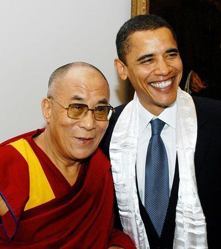 the 14th dalai lama | the us president barack obama and h h the dalai lama of tibet during ...