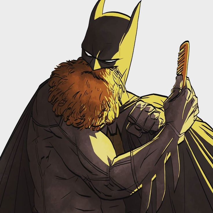 Bearded Batman!
