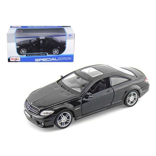 Mercedes CL63 AMG Black 1/24 Diecast Model Car by Maisto