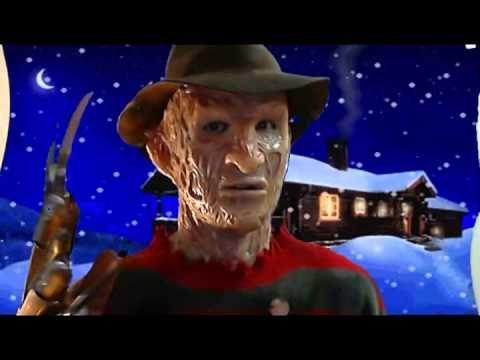 Święta na ulicy Wiązów, i życzenia od Freddiego Krugera ze znanego i lubianego horroru. http://www.smiesznefilmy.net/freddy-krueger-zyczy-wesolych-swiat  #wesołychSwiąt #FreddyKruger #ulicaWiązów