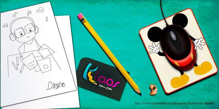 Inspiración masiva de creatividad ...   #Diseñar #Ilustrar  By: Claudia Perez https://www.facebook.com/pages/Klaos/280241368764288?ref=hl