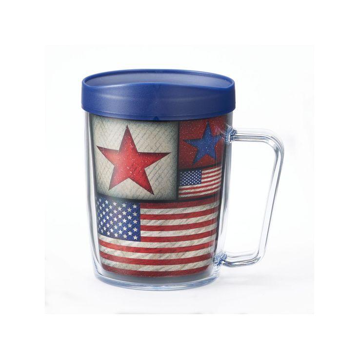 Signature Tumblers Monday Coffee USA 18-oz. Insulated Coffee Mug, Multicolor