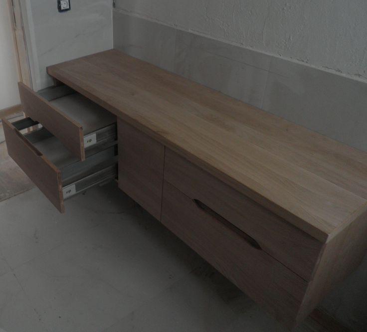 έπιπλο μπάνιου από δρυς μασίφ . ΕΠΙΠΛΑ ΚΑΦΡΙΤΣΑΣ.