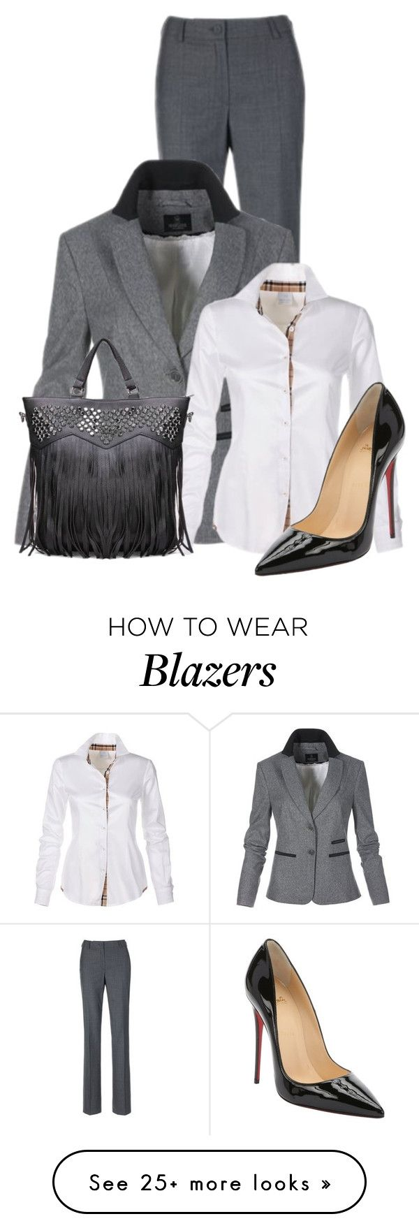 """Untitled #11080"" by nanette-253 on Polyvore featuring moda i Christian Louboutin"