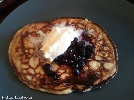 Recept - Kolhydratsfria pannkakor- LCHF