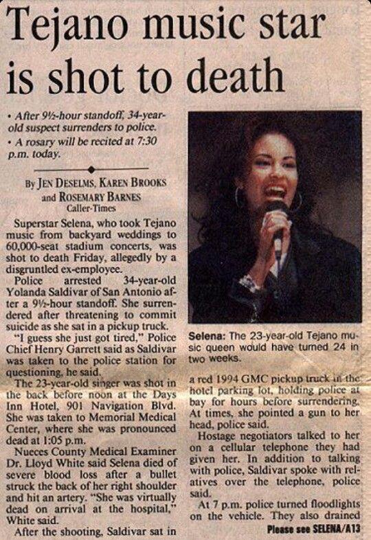 Selena quintanilla autopsy opinion