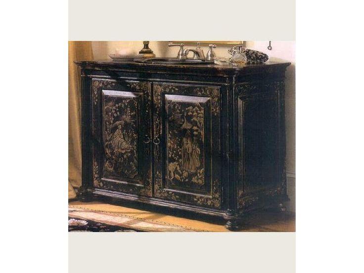 Habersham Furniture CHINOISERIE VANITY KB17-4038B