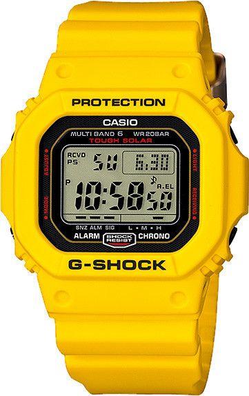 Mens G-Shock 30th Anniversary Lightning Yellow Series