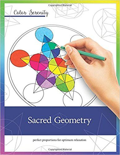10 best sacred geometry images on pinterest sacred geometry amazon color serenity sacred geometry a grown up coloring book fandeluxe Images