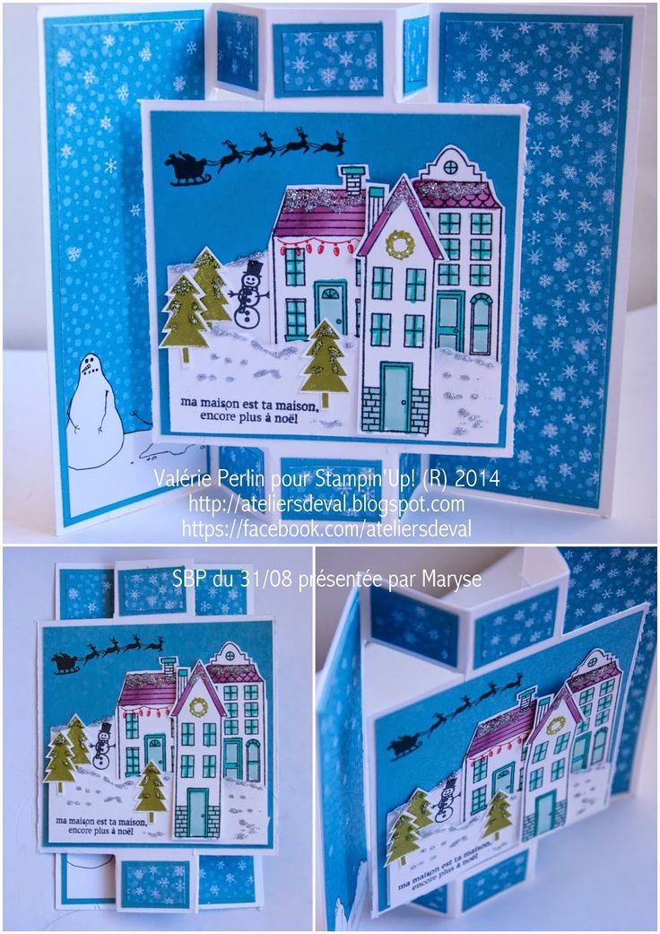 "Stampin' Up!'s ""Holiday Home"" stamp set"