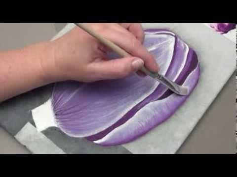 Peindre un ourson - one stroke - YouTube