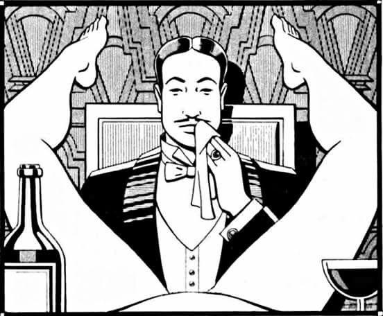 The Dinner of a True Gentleman