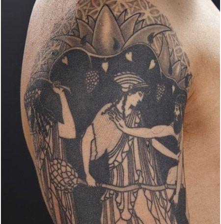 140 best ink images on pinterest tattoo designs tattoos for Greek sculpture tattoo