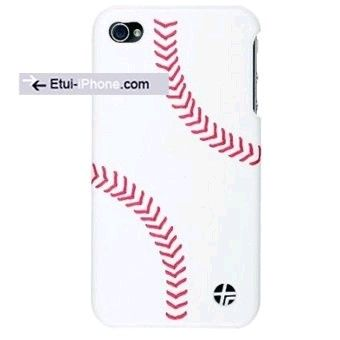 Coque iPhone 4/4S Luxe Racer cuir Baseball sur www.etui-iphone.com #coque #iphone4