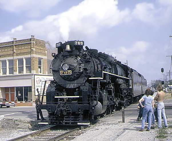 Last Of The Steam Locomotives. North Vernon Indiana