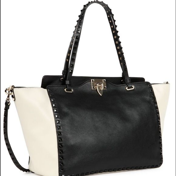 Authentic Valentino Rockstud Bag For SALE Brand new  Authentic Valentino Rockstud Bag. comes with dust bag,authenticity card and care instruction Valentino Bags Totes